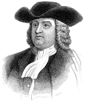 William Penn founded Philadelphia in 1682